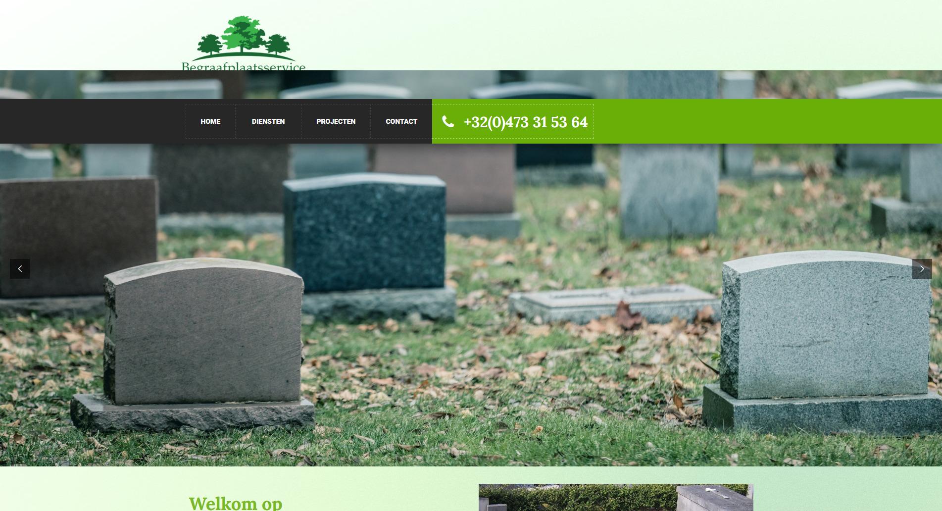 Begraafplaatsservice