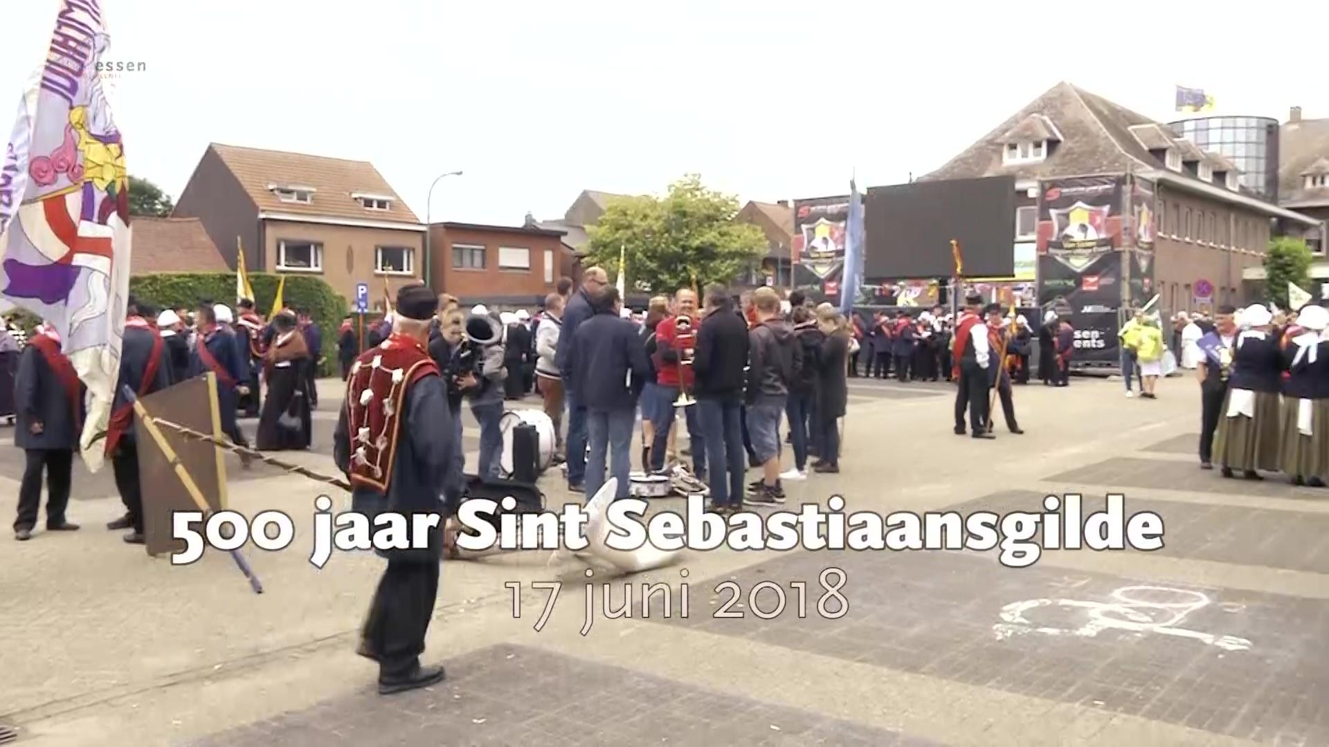 500 Jaar Sint Sebastiaans gilde 2018