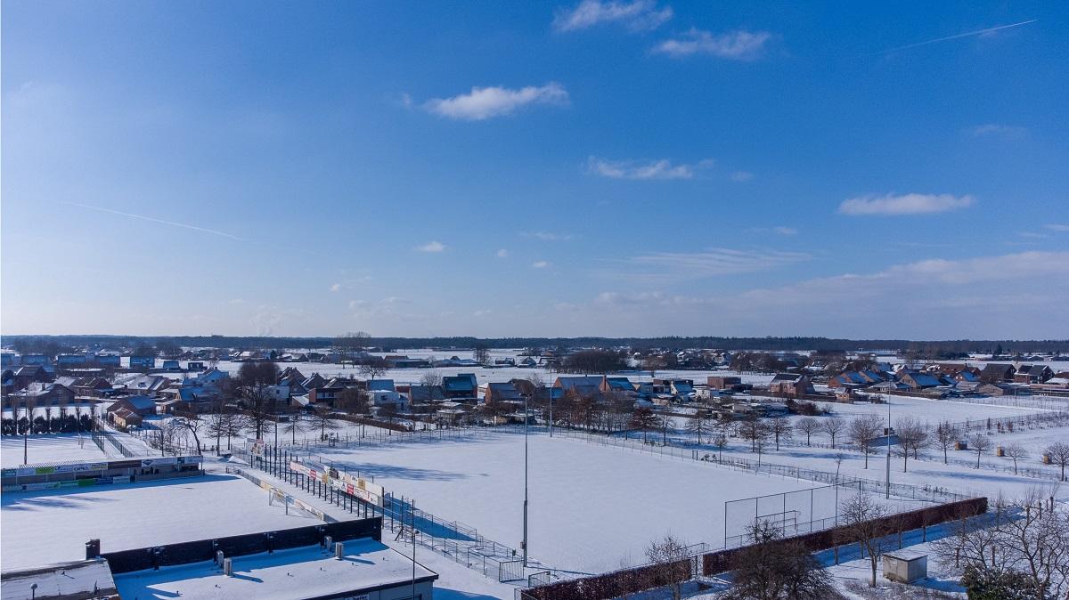 Sneeuw Wuustwezel